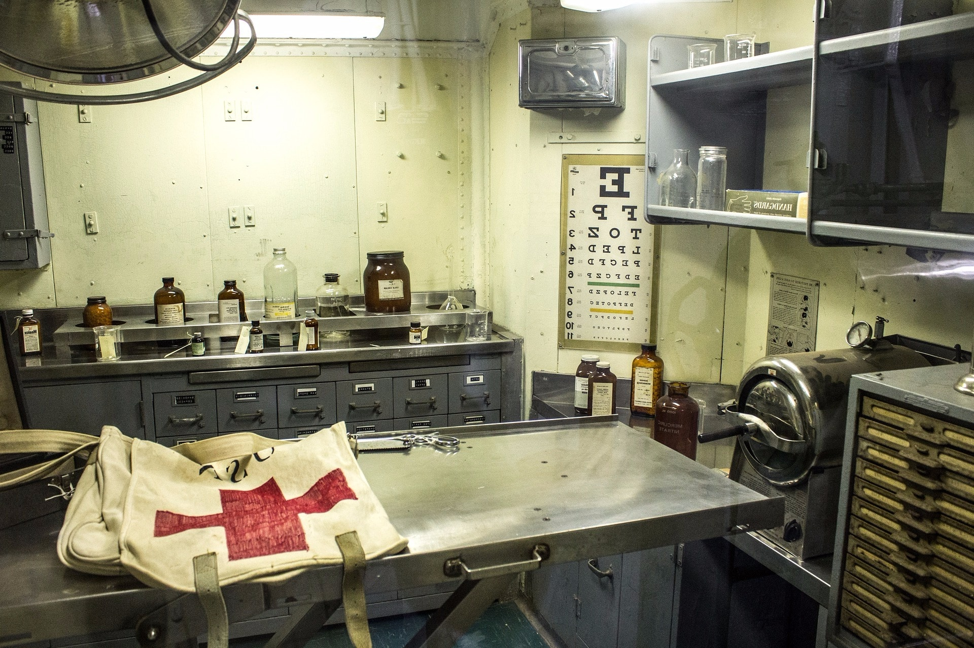 sala-curas-enfermeria-militar
